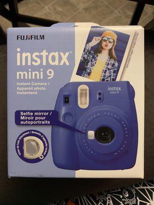 Instax mini 9 instant camera for Sale in Augusta, GA