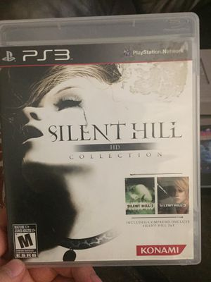 Silent hill collection HD - ps3 for Sale in Ontario, CA