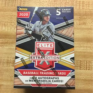 Panini Elite Extra Edition Baseball Sealed Box for Sale in Apple Valley, CA