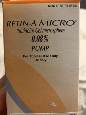 Retin-A Micro 0.08% . Net wt. 50g for Sale in The Bronx, NY