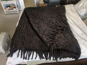 Adreanne Landau 100% rabbit fur blanket 72x112 for Sale in LAUD BY SEA, FL