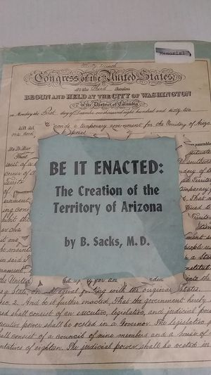 Be It Enacted story of Arizona for Sale in Peoria, AZ
