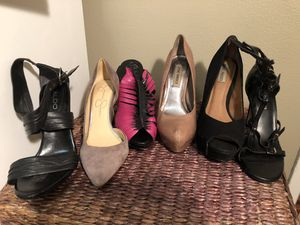 Women's Size 7 heeled shoes for Sale in San Diego, CA