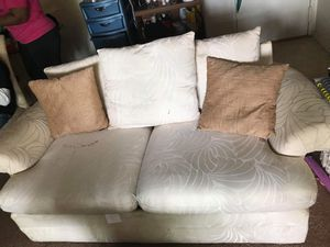 love seat and couch 80 obo. pick up only for Sale in Forest Heights, MD