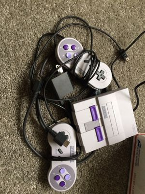 Super Nintendo mini SNES classic with over 2,350 games for Sale in Hanover, MD