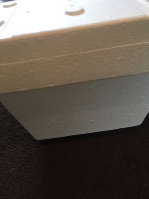 Styrofoam cooler for Sale in Brooklyn, OH