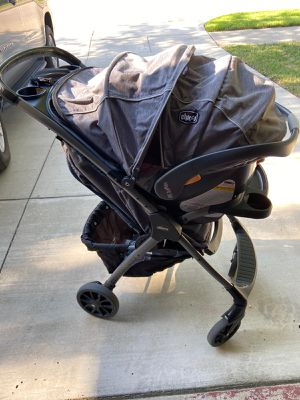 Baby Stroller and Car seat Set 3pc for Sale in Fort Worth, TX