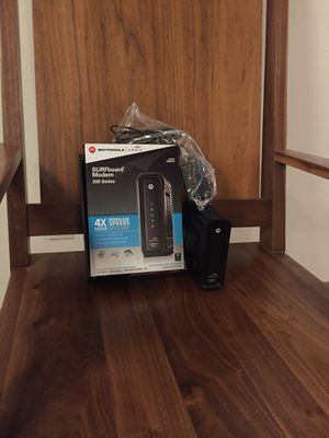 Motorola Cable Modem - SURFboard for Sale in Portland, OR