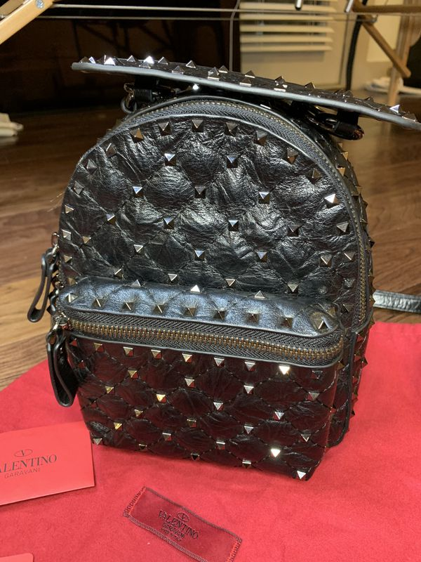 Valentino rock stud mini bag pack . Used. Mint condition. Only wear twice.