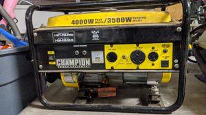 Champion generator for Sale in Winchester, CA