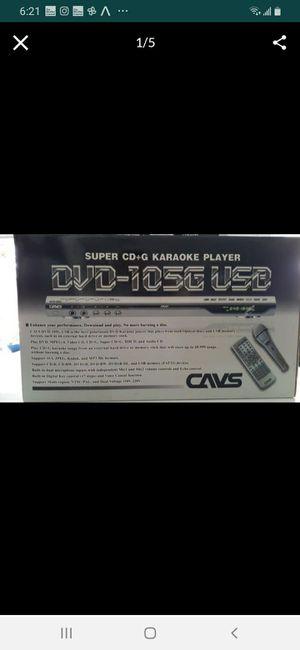Super CD+G KARAOKE PLAYER DVD for Sale in Miami, FL