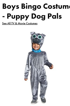 Kids costume Bingo from Puppy Dog Pals originally 30.00 @ party city/Wal-Mart/Amazon for Sale in Baltimore, MD