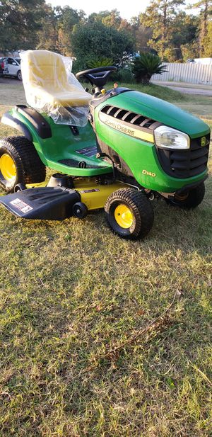 """2015' John Deere D140,48"""", 8hrs for Sale in Humble, TX"""
