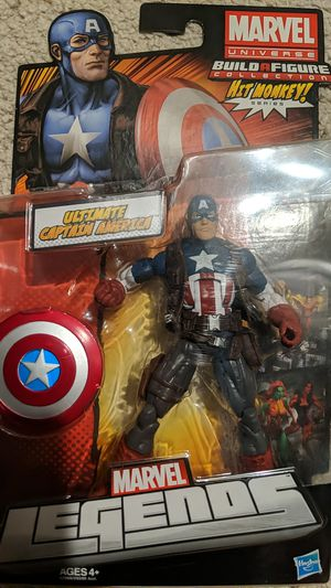 Marvel legends hit monkey series captain america for Sale in Chino, CA