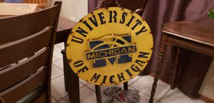 Steel hand crafted signs for Sale in Detroit, MI