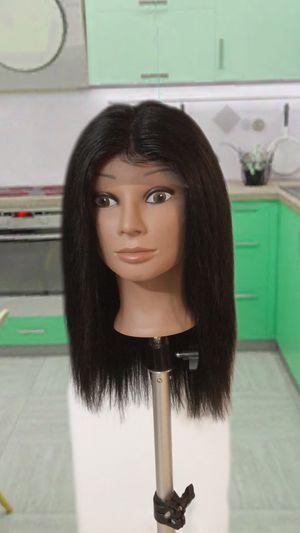 14 inch Brazilian 100% human hair lace front wig for Sale in Columbus, OH