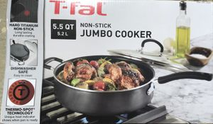 NEW 5.5 QUART JUMBO COOKER WITH LID for Sale in Redlands, CA