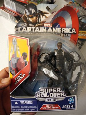 Marvel captain America Super soldier action figure for Sale in Commerce, CA