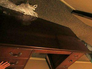 Executive desk and file cabinet for Sale in Dallas, TX