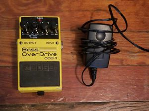 BOSS Bass Overdrive pedal for Sale in Columbus, OH