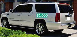 🍁$1.000 Good running vehicle 2OO8 Escalade ❗Urgent❗$1OOO🍁 for Sale in Bridgeport, CT