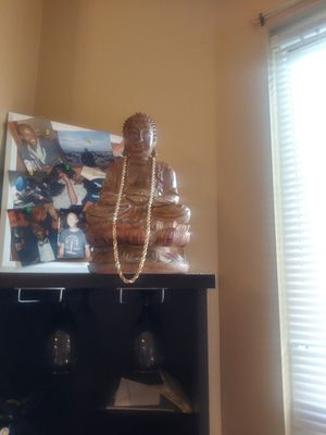 30 inch solid gold rope for Sale in Chicago, IL