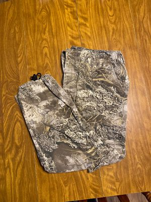 Real tree camo pants for Sale in Friendsville, TN