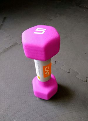 5 lbs dumbbell for Sale in Lutz, FL