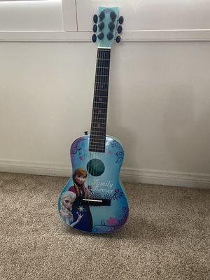 Kids frozen acoustic guitar for Sale in Laguna Hills, CA