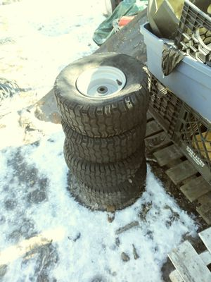 Lawn Tractor tires set of 4 for Sale in Pawtucket, RI