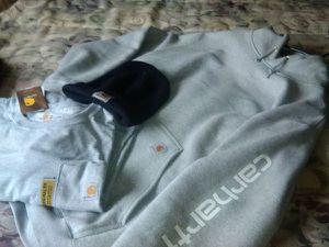 Carhartt Hoodie, Skull cap & Long sleeve T-shirt for Sale in Winston-Salem, NC