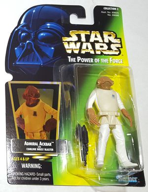 Star Wars Admiral Ackbar 1997 Power of the Force for Sale in Lakewood, WA