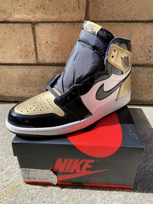 Jordan 1 Gold toes for Sale in Carson, CA