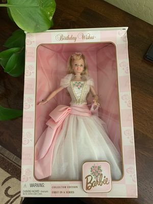 Birthday Wishes Collectible Barbie 1998 for Sale in Queen Creek, AZ
