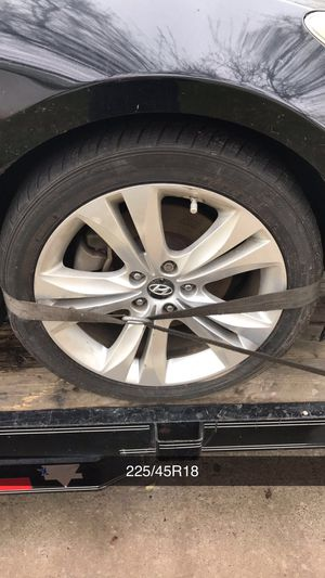 2010 Hyundai Genesis Coupe Rims and Tires for Sale in Sacramento, CA