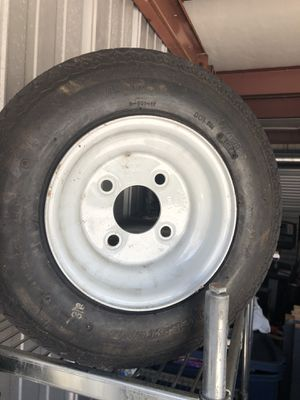 Brand new trailer wheels 3 $40 each or $100 all 3 size D-901-12 for Sale in North Providence, RI