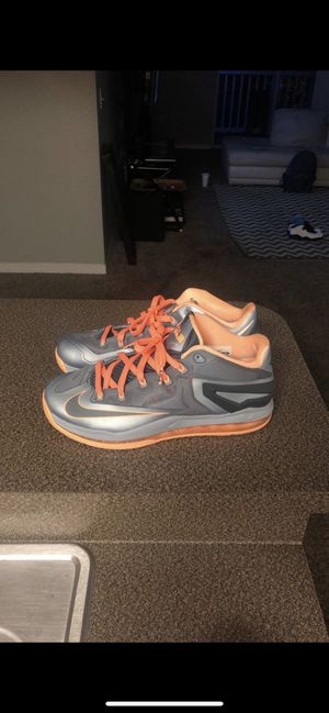 Nike Jordan Adidas Basketball Shoes - Lebron Citrus Low Size 10 for Sale in Tampa, FL