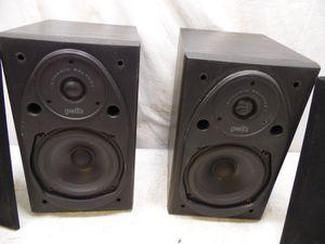 "Polk Audio Dynamic Balance Power Port Shelf Speaker System Set 2 Way 5"" Woofer for Sale in Lansdowne, PA"