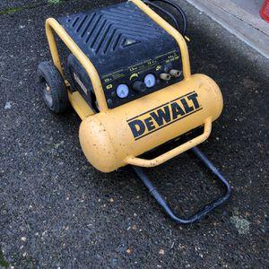 Dewalt Air Compressor D55146 for Sale in Vancouver, WA