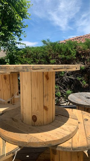 Wooden Spool for Sale in Moreno Valley, CA