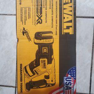 Dewalt XR Brushless Sawzall FIRM for Sale in Lakewood, CA