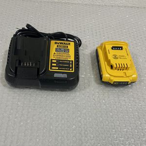 DeWalt 20 V 2 Ah Battery And Charger $50 Firm NEW for Sale in Los Angeles, CA