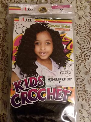1 pk of kids #2 crotcheting hair!-- FREE for Sale in Charlotte, NC