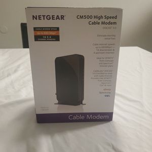 Netgear CM500 High Speed Cable Modem for Sale in Riverside, CA