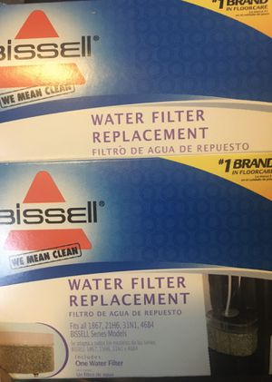 Bissell Green Upright Steamer for Hard Floors Replacement Filter for Sale in Mayville, NY