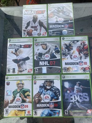 Xbox 360 games for Sale in Westminster, CA