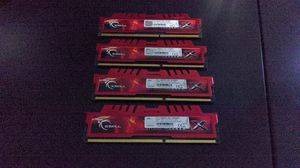 DDR3-1600 PC3-12800 4GBx4 GSKILL RipJaws PC Memory for Sale in Chandler, AZ