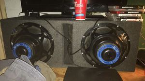 Power bass 12's and box $120 for Sale in Lakeland, FL