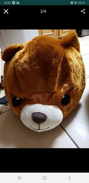 Teddy bear mascot head for Sale in South Houston, TX