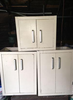 Antique Vintage 1920s Steel Kitchen Cabinets for Sale in Detroit, MI